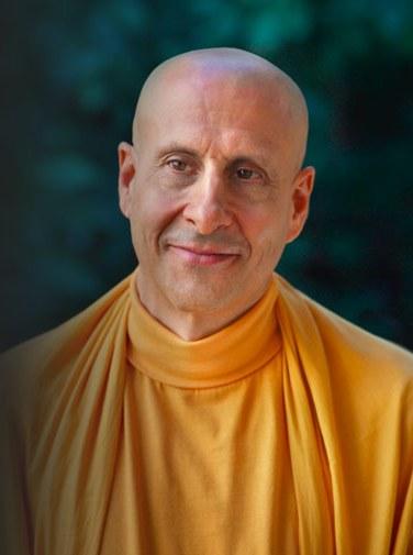 Radhanath Swami Face